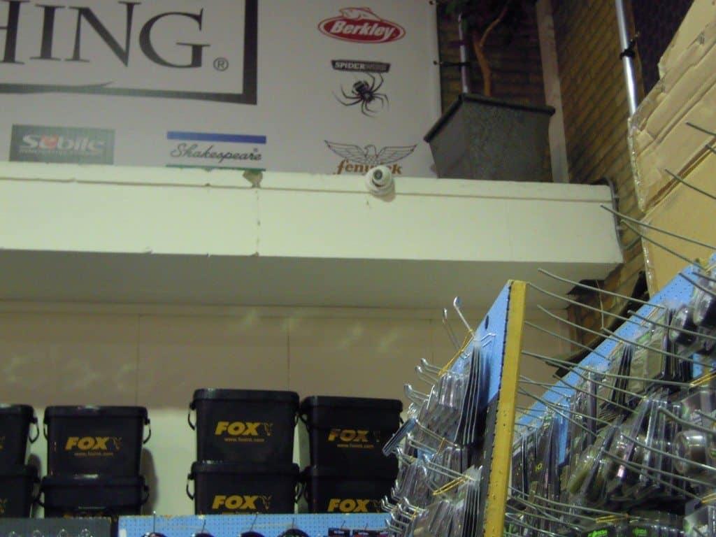 camera bewaking winkel pand