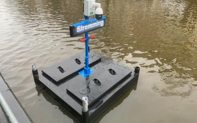 Floating Traffic Control Camera Toezicht voor PKWaterbouw