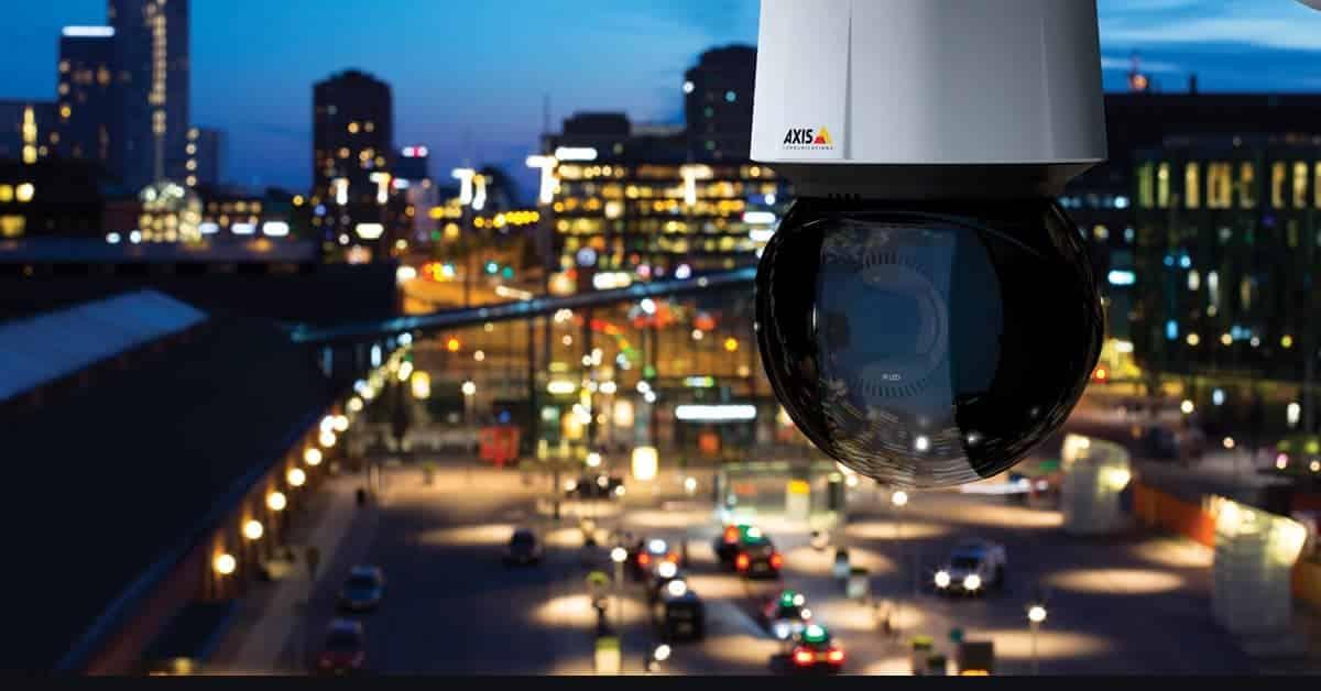 beveiligingscamera installatie