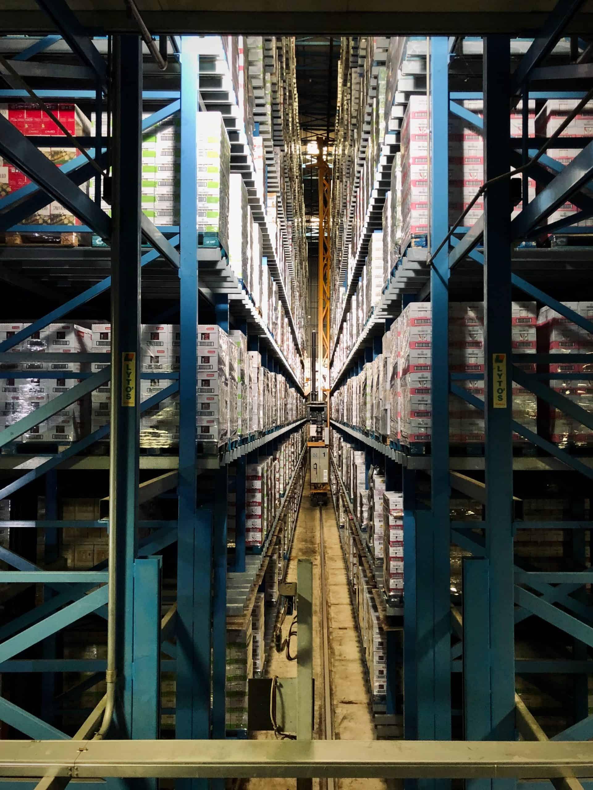 camerabewaking warehousing
