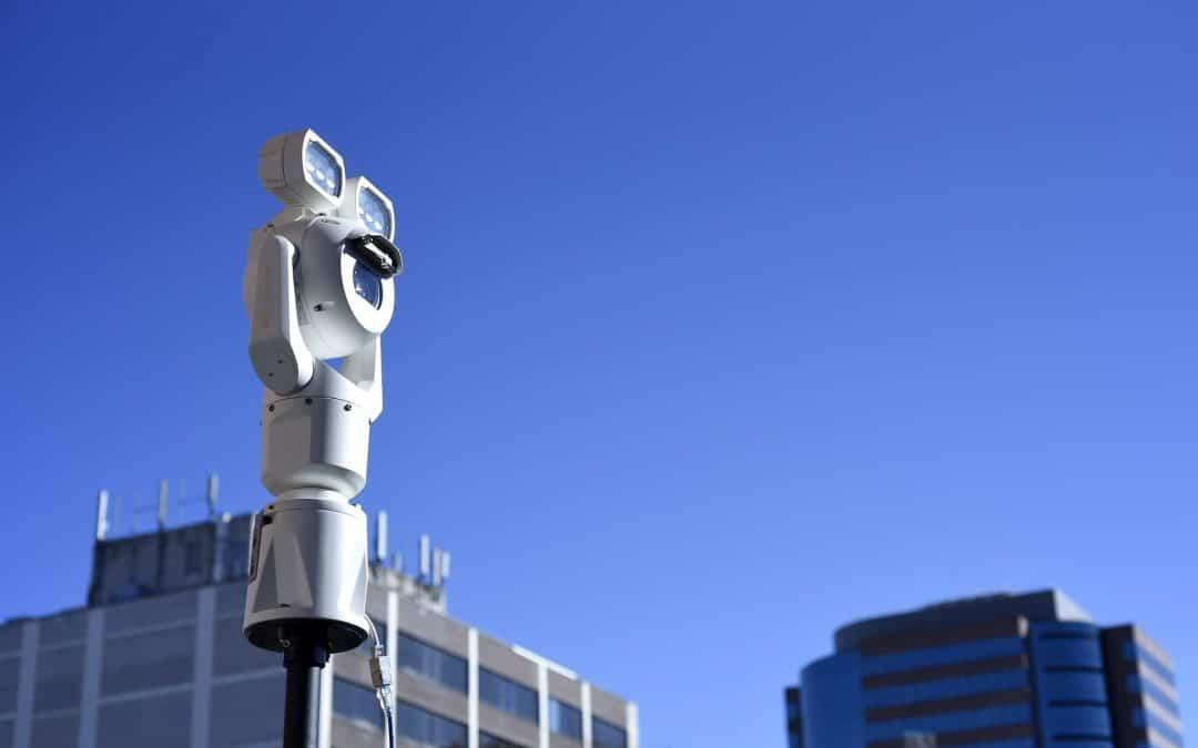 Bewakingscamera's met verschillende resoluties
