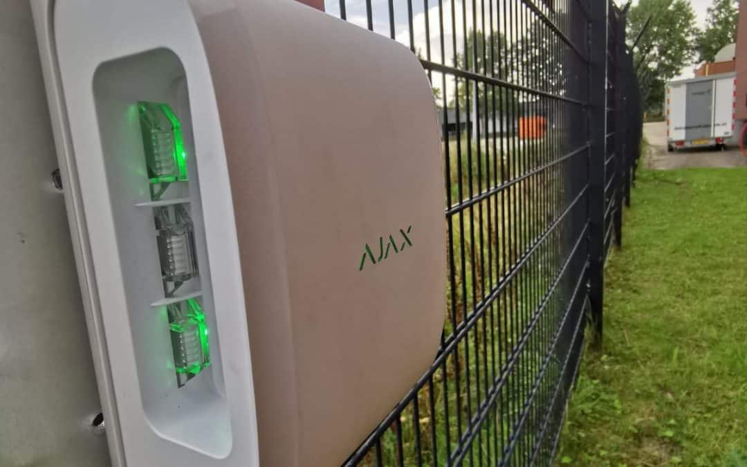 Alarmsysteem Buitenterrein Beveiliging Met Ajax