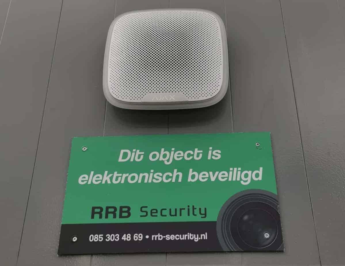 Alarmsysteem Buitenbeveiliging